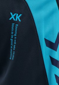 Hummel - HMLACTION  - Sports shorts - black iris/atomic blue - 3