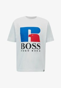 BOSS - Print T-shirt - white - 4