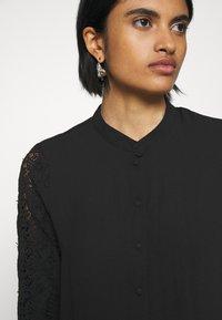 Vero Moda - VMZIGGA - Button-down blouse - black - 5