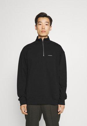 MOCKNECK - Sweatshirt - black