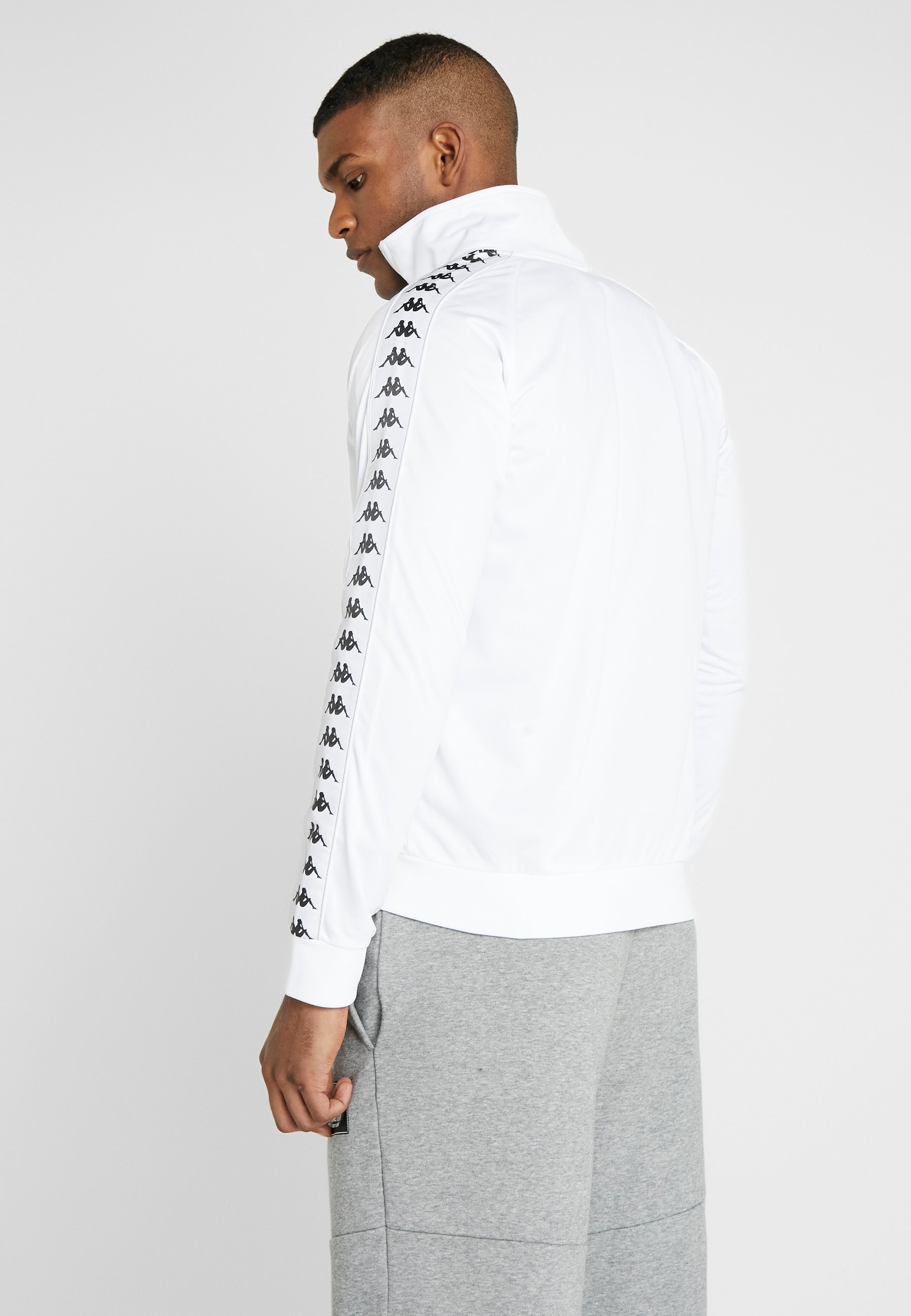 Kappa GAMBRU - Veste de survêtement - bright white