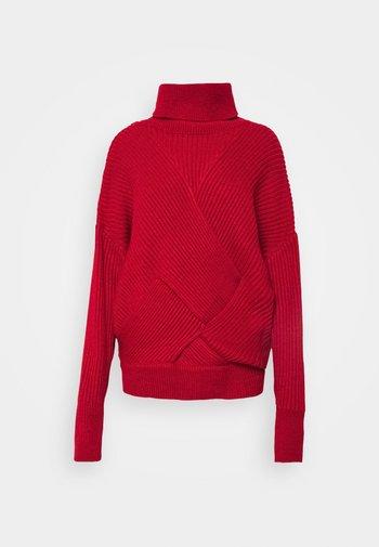 VIVIAN - Jumper - winter red