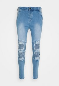 SIKSILK - BIKER - Jeans Skinny Fit - light wash - 3