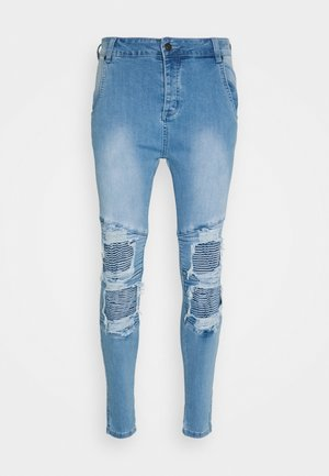 BIKER - Jeans Skinny Fit - light wash