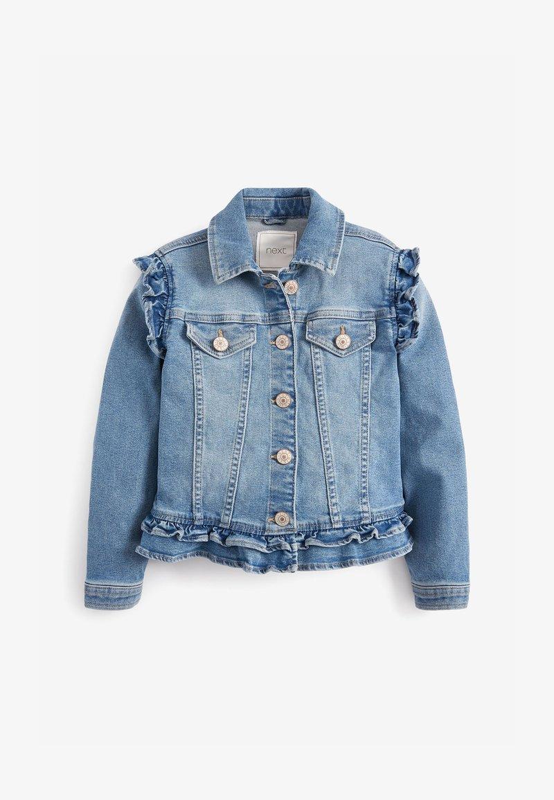 Next - FRILL - Denim jacket - blue denim