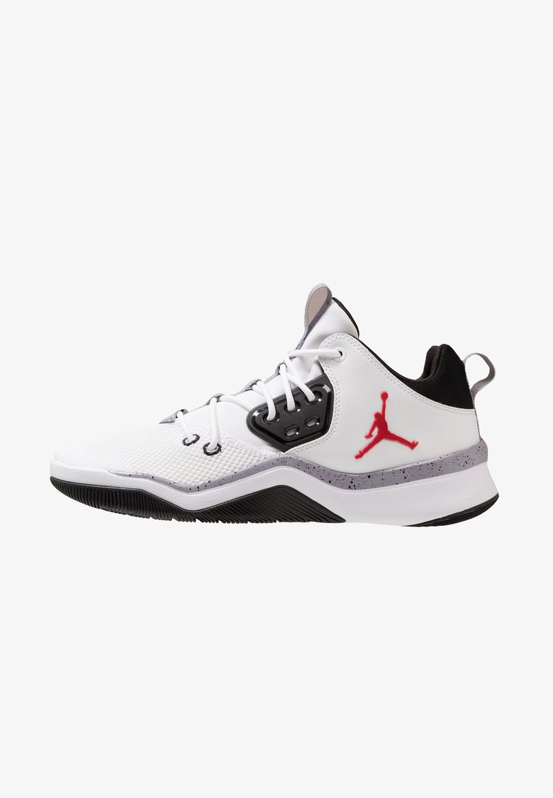 Jordan - DNA - High-top trainers - white/gym red/black/cement grey
