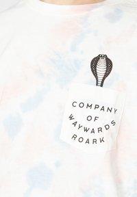 Roark - Print T-shirt - grey blue - 3