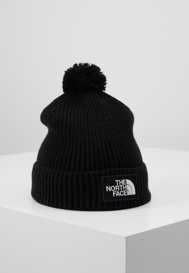 LOGO BOX POM - Bonnet - black