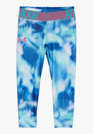 PRINTED ANKLE CROP - Legginsy - breathtaking blue/pace pink