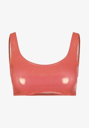 Bikini top - copper