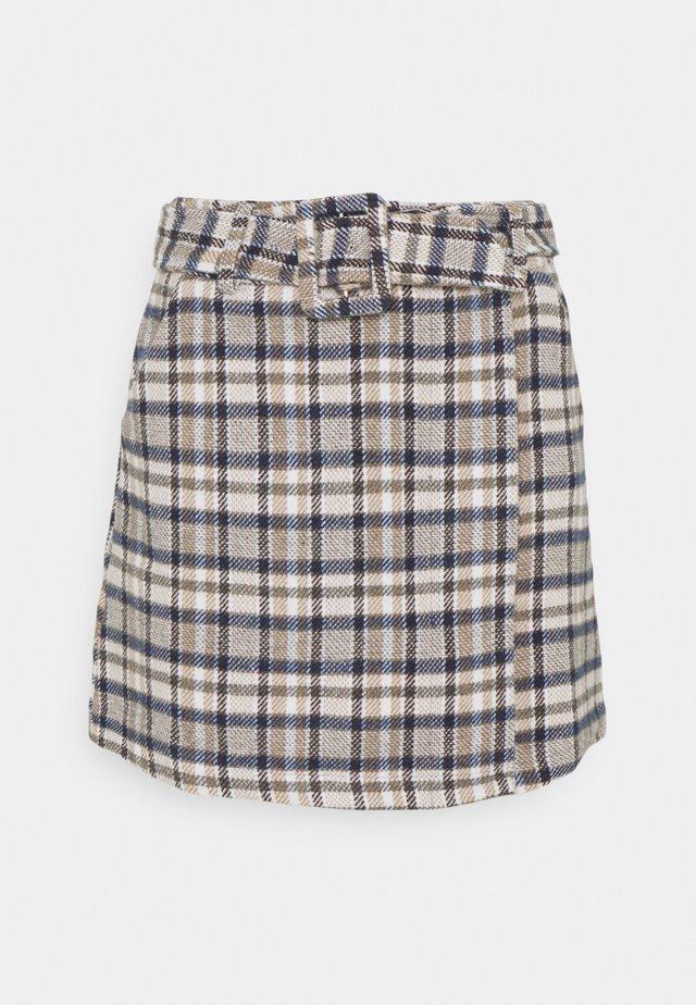 KENE SKIRT - Mini skirt -  light brown
