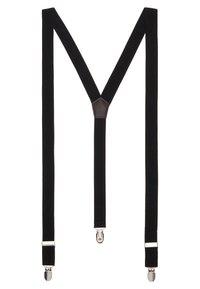 Only & Sons - ONSBOWTIE SUSPENDER SET - Bow tie - black - 1