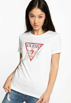 SS CN ICON  - T-shirt imprimé - white