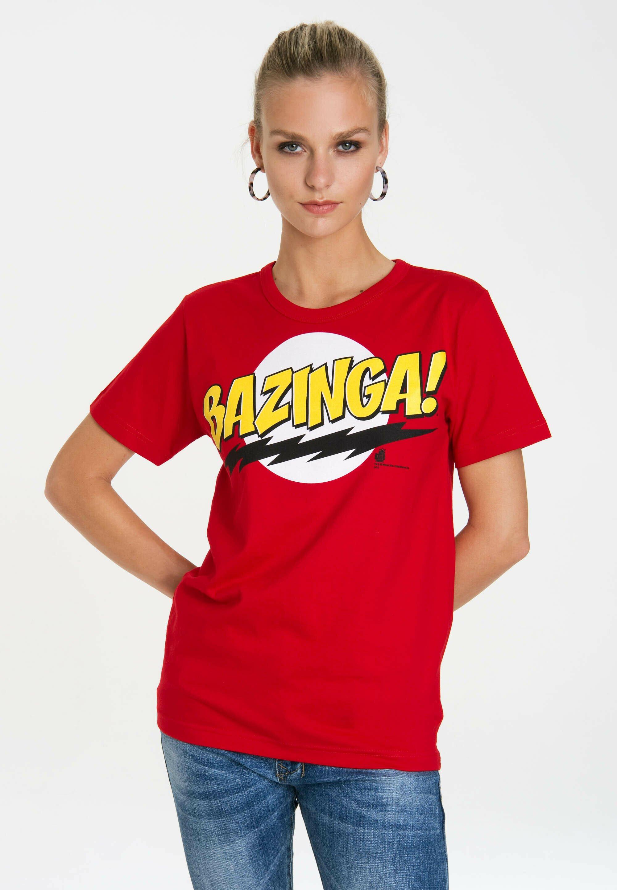Damen BAZINGA - T-Shirt print