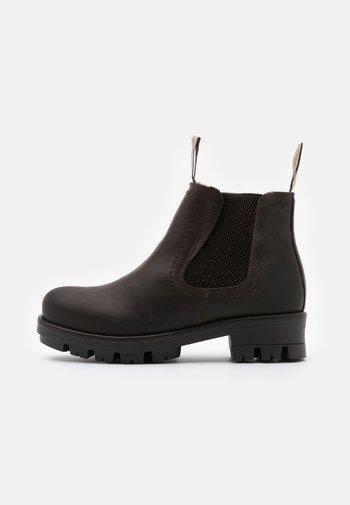CISSI OUTDOOR - Zimní obuv - moro
