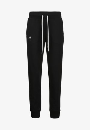 Tracksuit bottoms - black / white