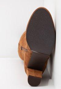 mint&berry - High heeled boots - cognac - 6