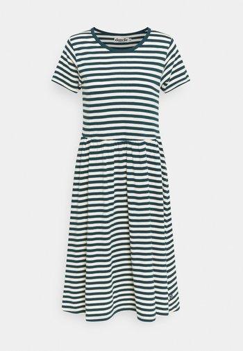 NIELSEN DRESS - Kjole - dusty navy/chalk