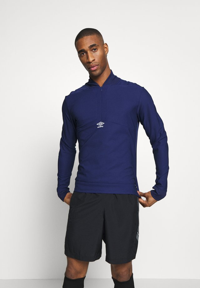 TRAINING MID LAYER DRILL - Topper langermet - medieval blue