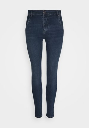 SKINNY  - Skinny džíny - dark-blue denim