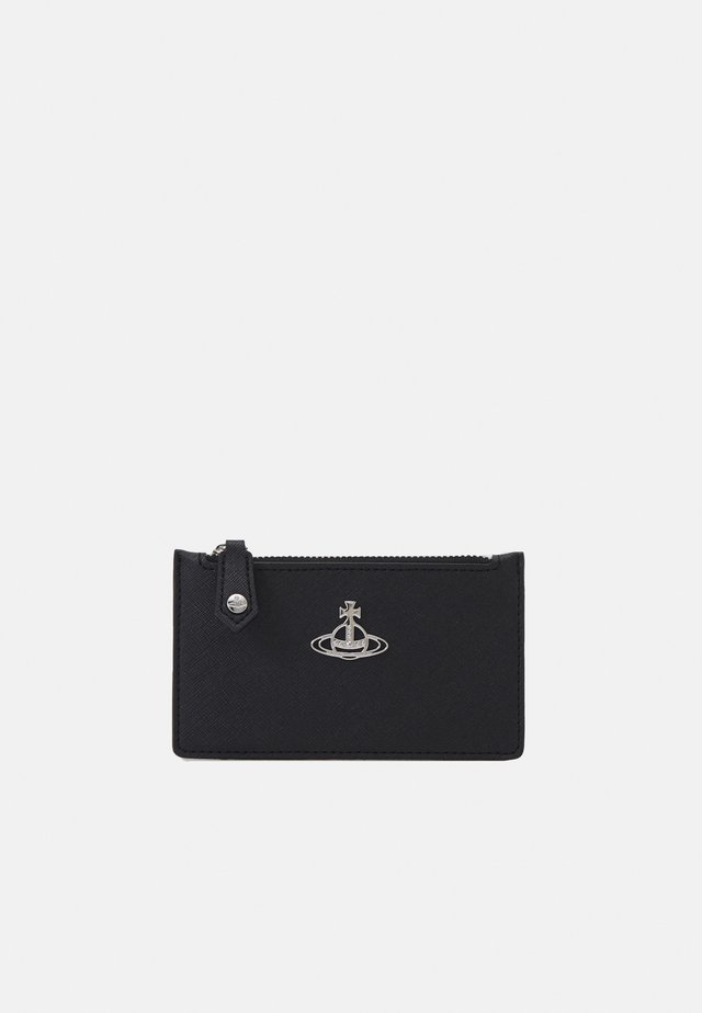DERBY SLIM LONG CARD HOLDER - Lompakko - black
