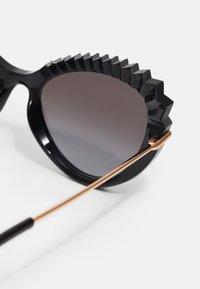 Dolce&Gabbana - Sunglasses - black/gold-colourd - 3