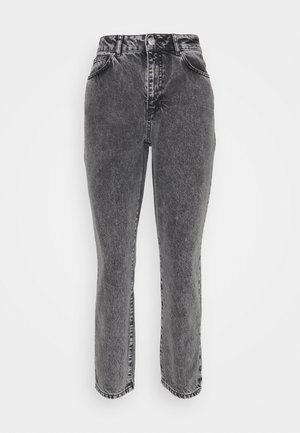 NMISABEL MOM  - Relaxed fit jeans - light grey