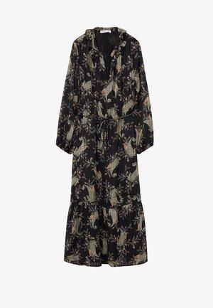 BOHO - Korte jurk - černá