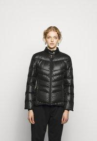 Lauren Ralph Lauren - PEARL SHEEN RACER MOTO SOFT - Down jacket - black - 0