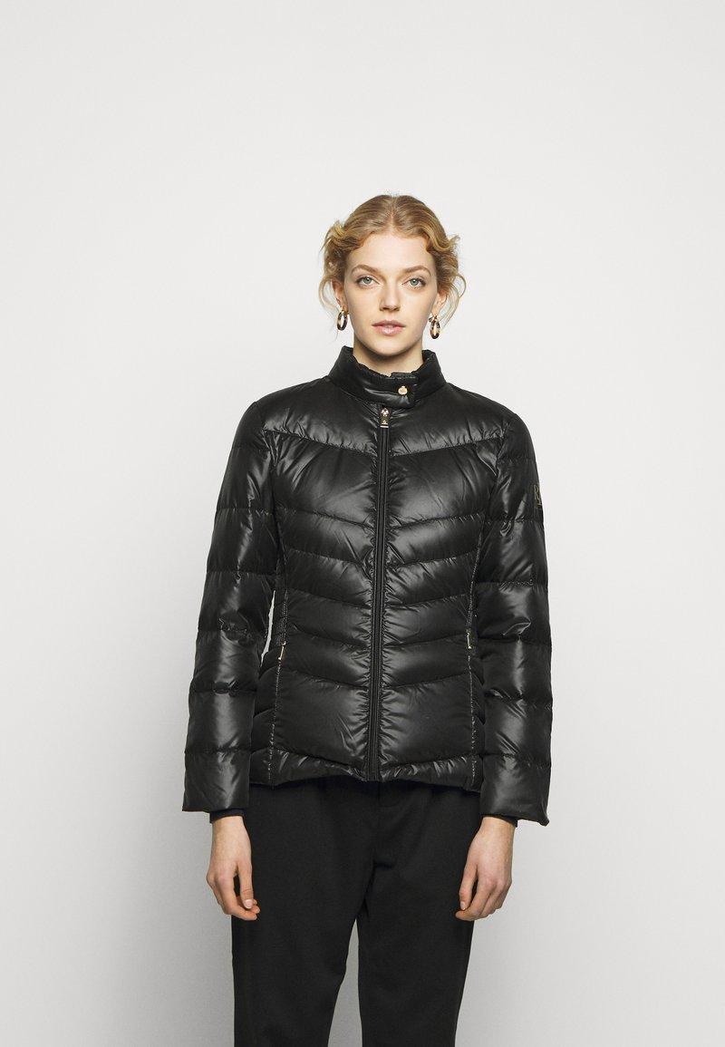 Lauren Ralph Lauren - PEARL SHEEN RACER MOTO SOFT - Down jacket - black