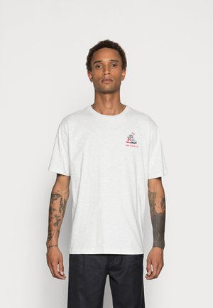ATHLETICS MINIMIZE TEE - T-shirt basic - white