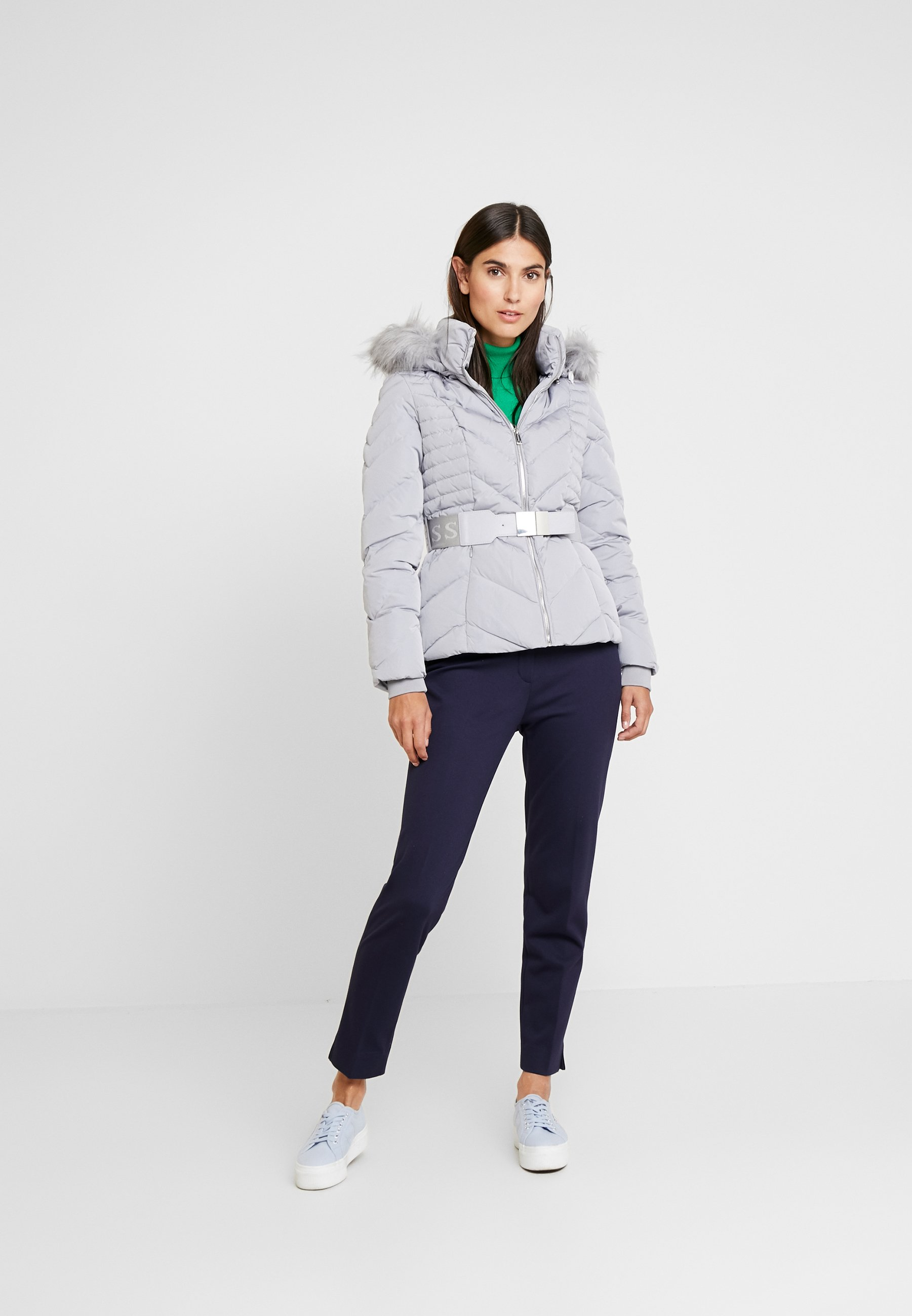 PETRA JACKET Daunenjacke mountain grey