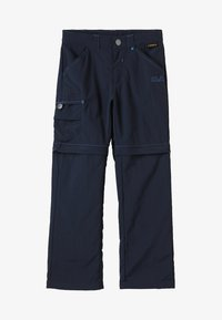 Jack Wolfskin - SAFARI ZIP OFF PANTS 2-IN-1 - Outdoor trousers - night blue - 5