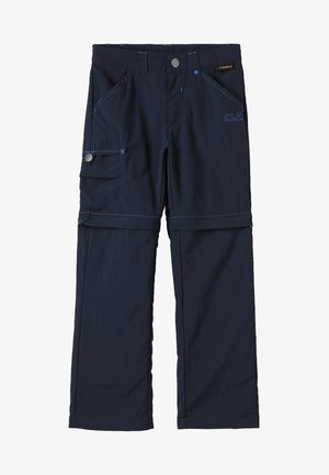 SAFARI ZIP OFF PANTS 2-IN-1 - Outdoorové kalhoty - night blue