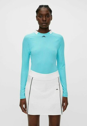 Long sleeved top - beach blue