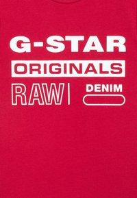 G-Star - SS TEE - Print T-shirt - dark baron - 2