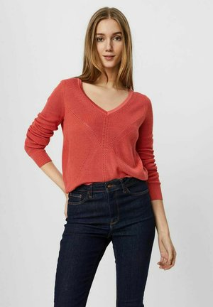 Jumper - spiced coral