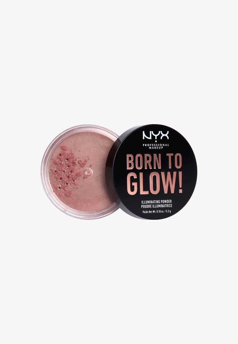 Nyx Professional Makeup - BORN TO GLOW ILLUMINATING POWDER - Powder - 1 eternal glow