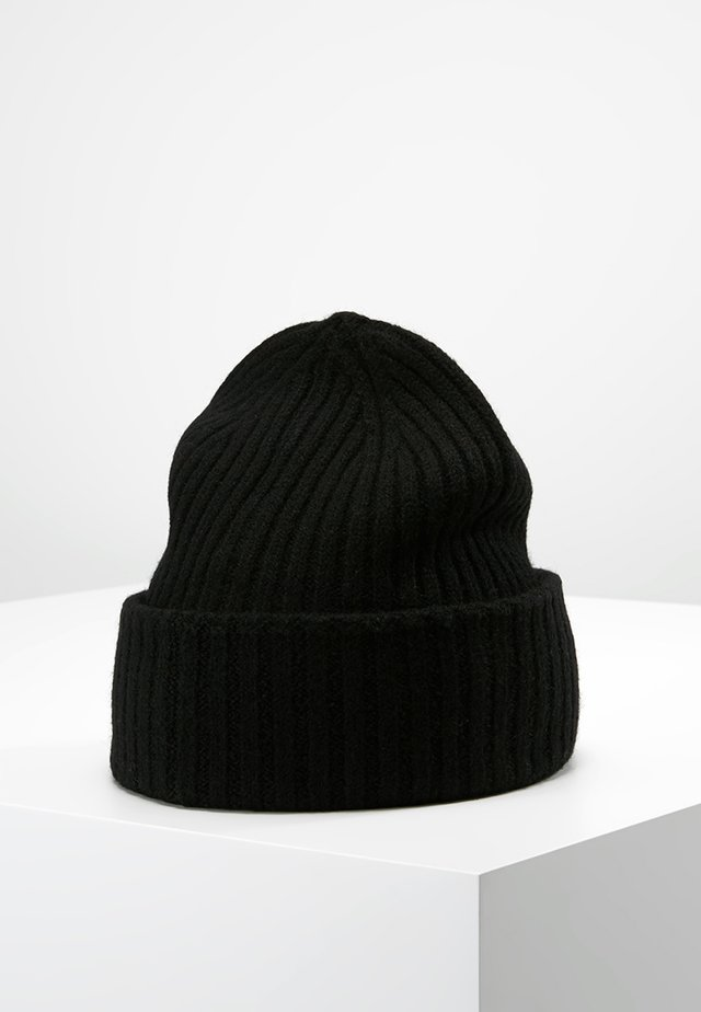 SLHMERINO - Bonnet - black