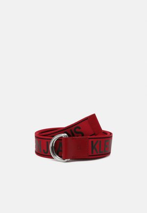 DOUBLE D RING TAPE  - Belt - red