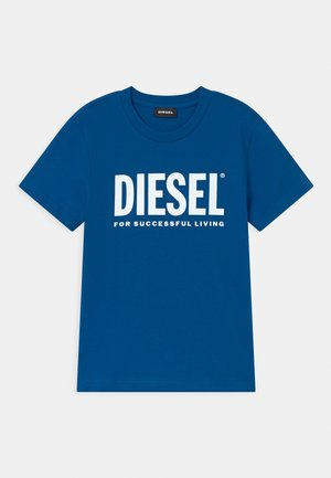 LOGO MAGLIETTA UNISEX - T-shirts print - classic bluette