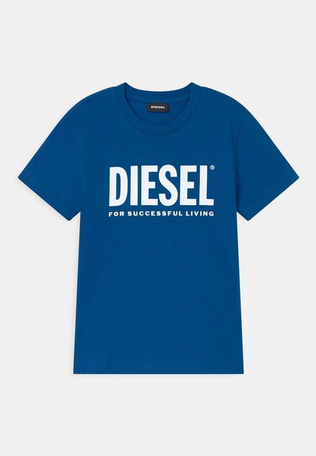 LOGO MAGLIETTA UNISEX - T-shirt print - classic bluette