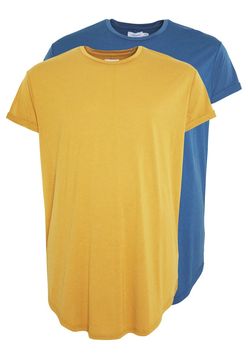Topman - APPLE SCOTTY 2 PACK  - T-shirt - bas - multi
