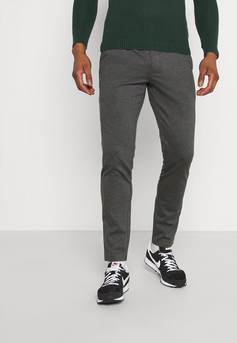 Redefined Rebel - PRINCE PANTS - Kangashousut - dark grey