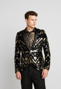 Twisted Tailor - GATSBY BLAZER - Sako - black - 0