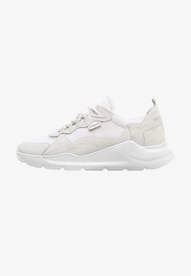 Sneakers - black  white