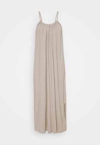 OBJWILMA SINGLET DRESS - Maksimekko - silver gray