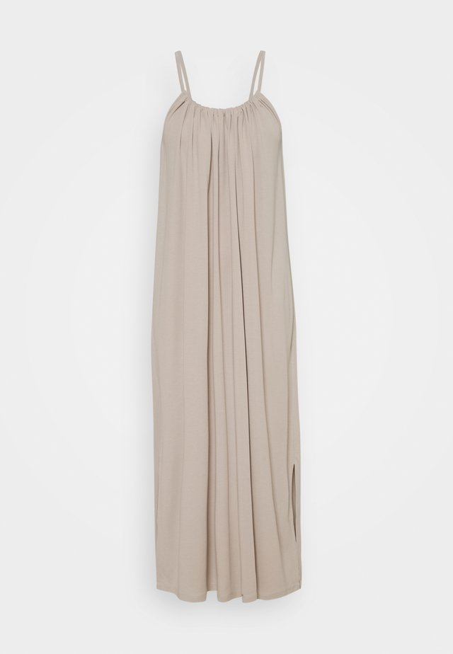 OBJWILMA SINGLET DRESS - Maxi-jurk - silver gray