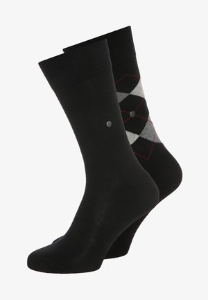 2 PACK - Chaussettes - black