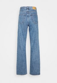 Monki - TAIKI STRAIGHT LEG - Straight leg -farkut - blue medium dusty - 1